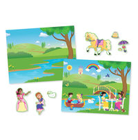 Melissa & Doug: Princess Castle Reusable Sticker Pad