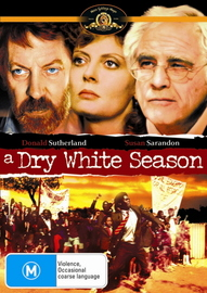 Dry White Season, A on DVD image
