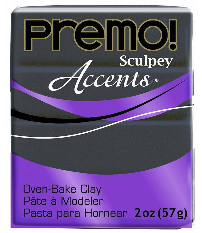 Sculpey Premo Accent Graphite Pearl (57g) image