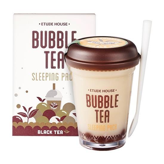 Etude House - Bubble Tea Sleeping Pack Black Tea (100G) image