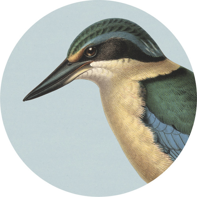 100 Percent NZ - Kingfisher Cork Backed Placemat