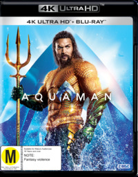 Aquaman on Blu-ray, UHD Blu-ray