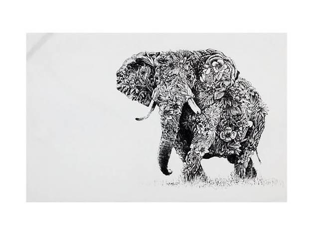 Maxwell & Williams Marini Ferlazzo Tea Towel - African Elephant