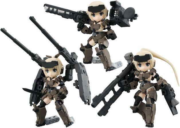 Frame Arms Girl: Gourai Series Ver1.2 Desktop Army - Mini Figure Set