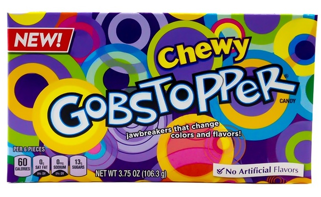 Gobstopper Chewy Candy Video Box (106g)