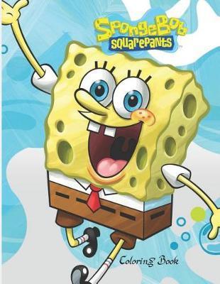 Spongebob Squarepants Coloring Book Image at Mighty Ape NZ