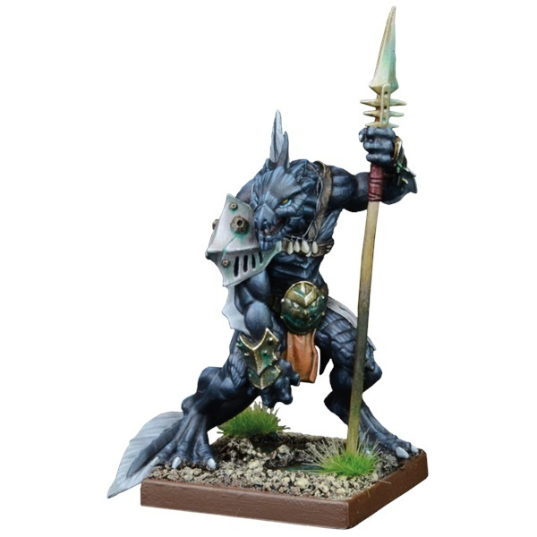 Kings of War Vanguard Trident Realm Support Pack: Placoderm Defender