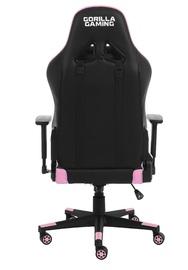 Gorilla Gaming Commander Elite Chair - Black & Pink for