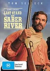 Last Stand At Saber River on DVD