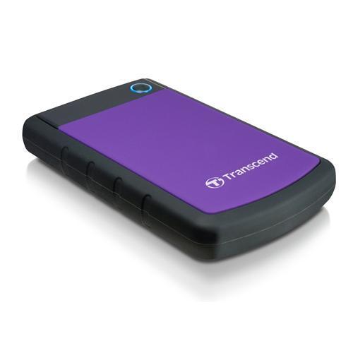 Transcend 1TB USB 3.0 Hard Drive - Purple image