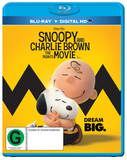 Snoopy And Charlie Brown The Peanuts Movie on Blu-ray