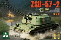 Takom 1/35 ZSU-57-2 Soviet SPAAG 2 in 1