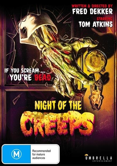 Night of the Creeps on DVD