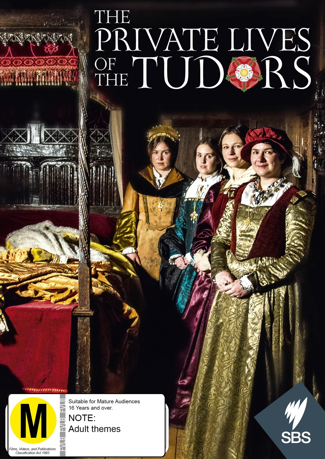 The Private Lives Of The Tudors on DVD image