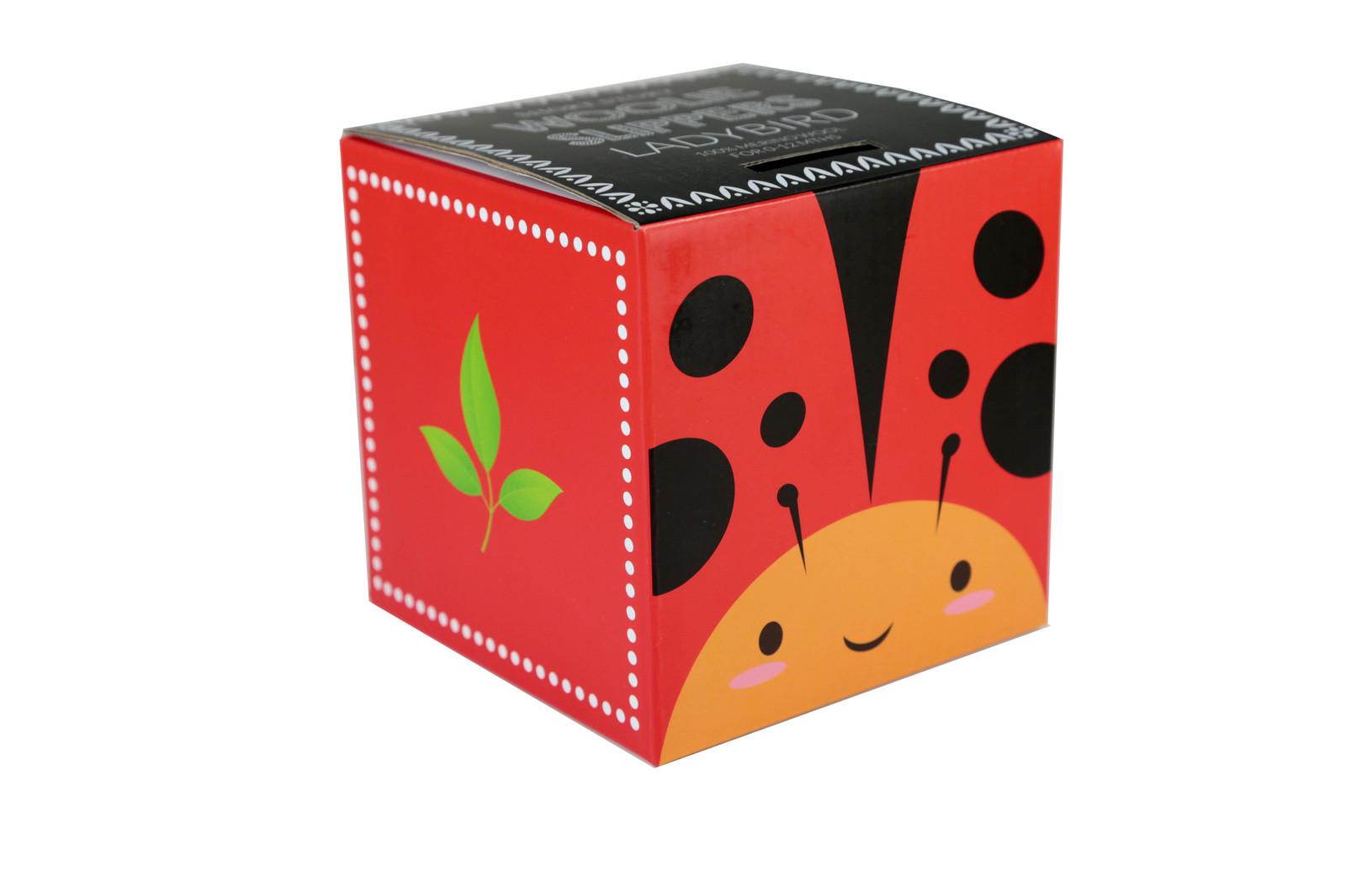 Woolie Slippers - Ladybug image