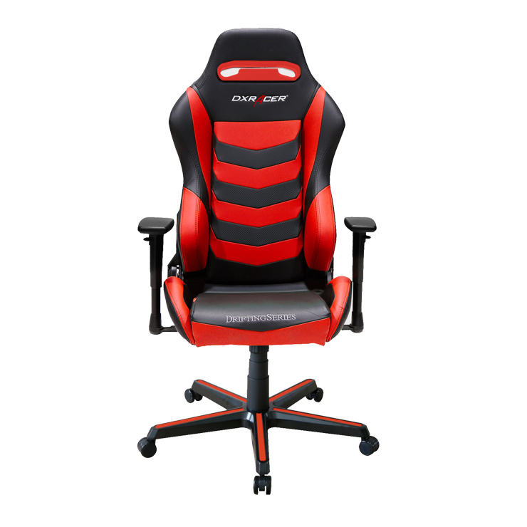 DXRacer Drifting Series DM166 Gaming Chair (Black and Red) for  image