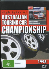 Highlights Of The Australian Touring Car Championship 1998 on DVD