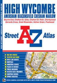 High Wycombe Street Atlas by Geographers A-Z Map Company