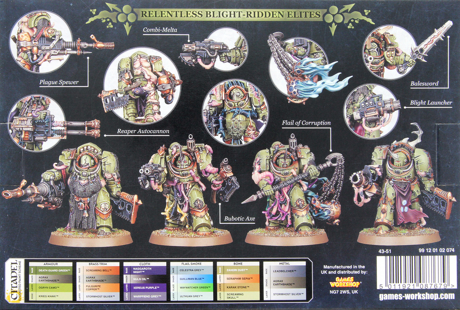 Warhammer 40,000: Death Guard - Blightlord Terminators image