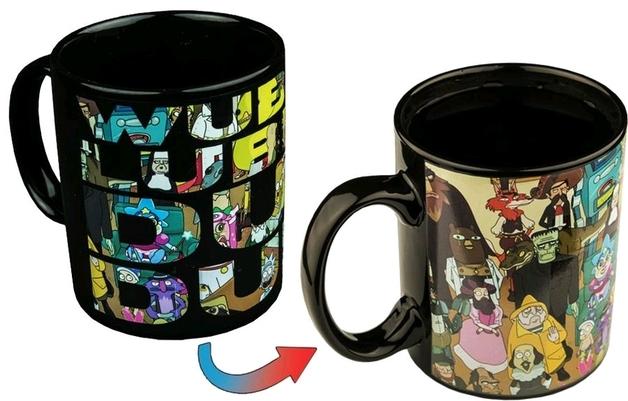 Rick and Morty - Group Shot Heat Change Coffee Mug
