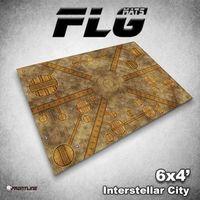 FLG Interstellar City Neoprene Gaming Mat (6x4)