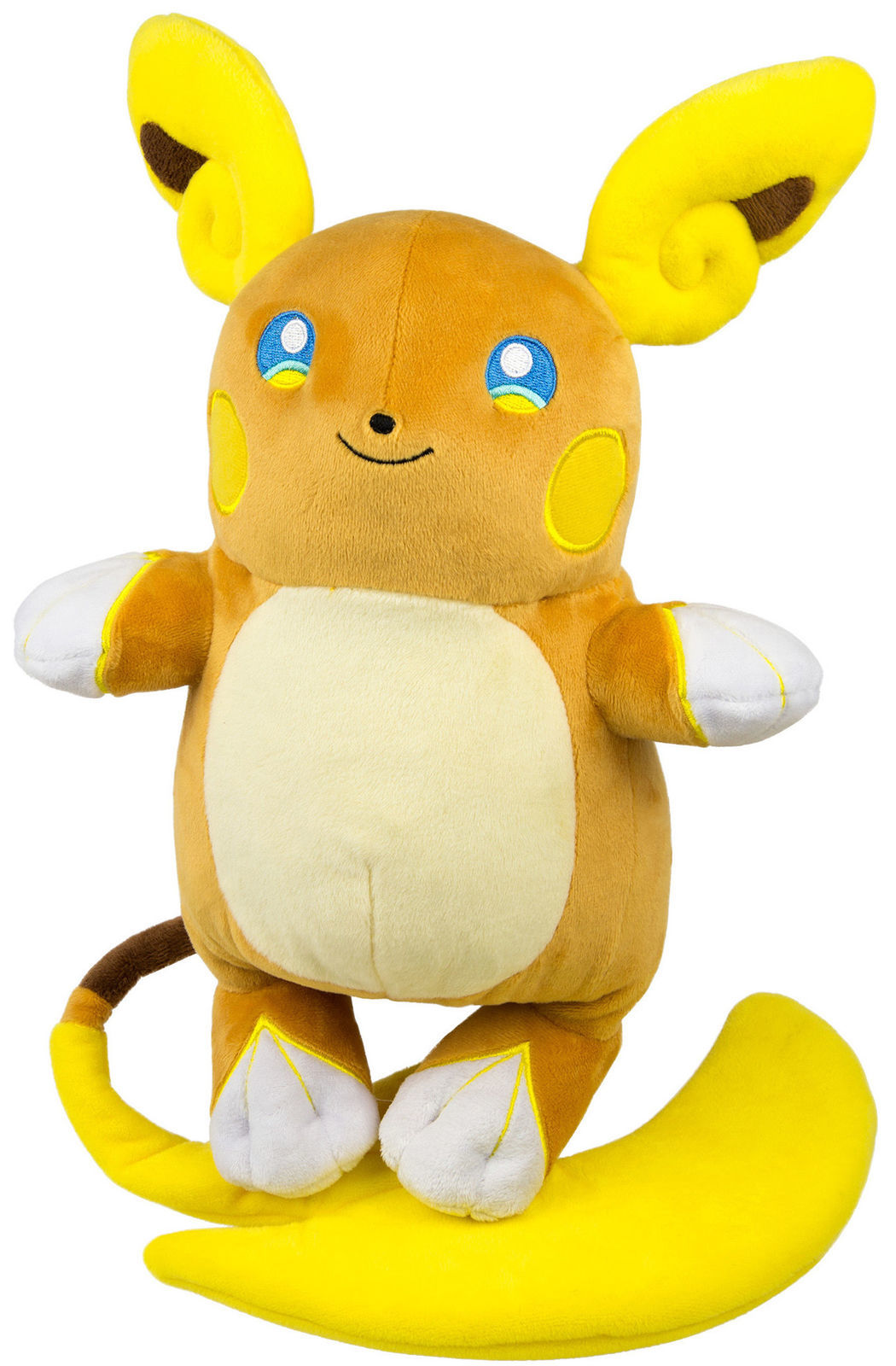 "Pokemon Large Plush Alolan Raichu 10"" image"