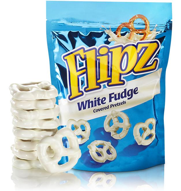 Flipz White Fudge Pretzel (141g)