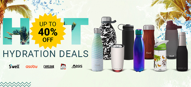 HOT Hydration Deals - up to 40% off!