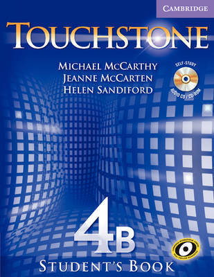 Touchstone Student's Book 4B with Audio CD/CD-ROM by Helen Sandiford