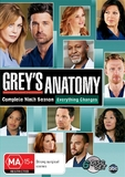 Grey's Anatomy - Complete Ninth Season on DVD