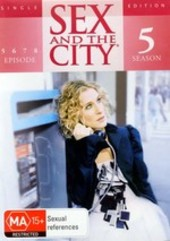 Sex And The City - Season 5 Disc 2 (Single Edition) on DVD