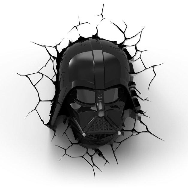 3D Deco Night Light - Star Wars Darth Vader Helmet