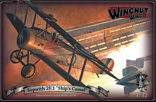 "Wingnut Wings 1/32 Sopwith 2F.1 ""Ship's Camel"" Model Kit"