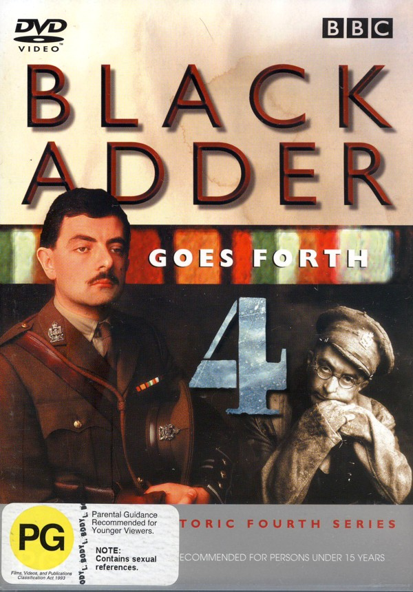 Blackadder - Series 4 Goes Forth on DVD image