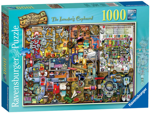 Ravenburger - The Inventor's Cupboard Puzzle (1000pc)