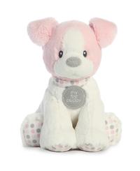 Aurora Baby: First Puppy Polka Dot - Pink Small (27cm)