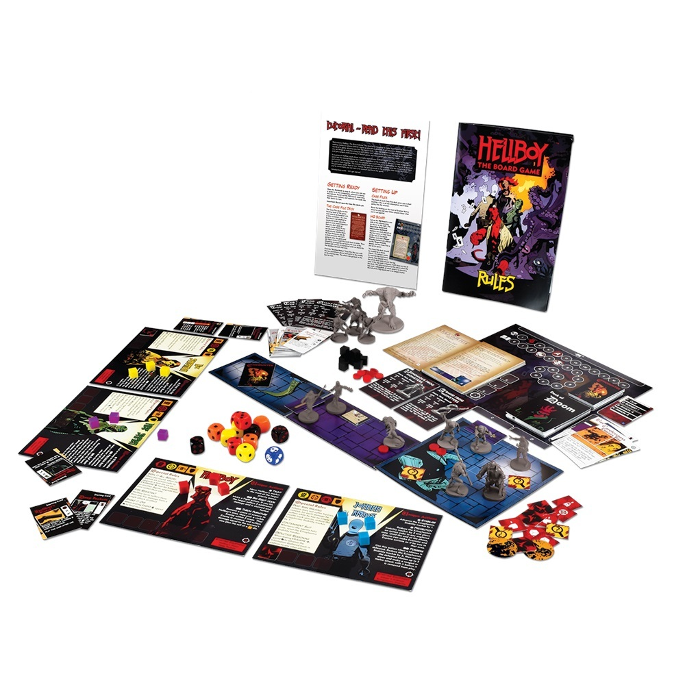 Hellboy: The Board Game image