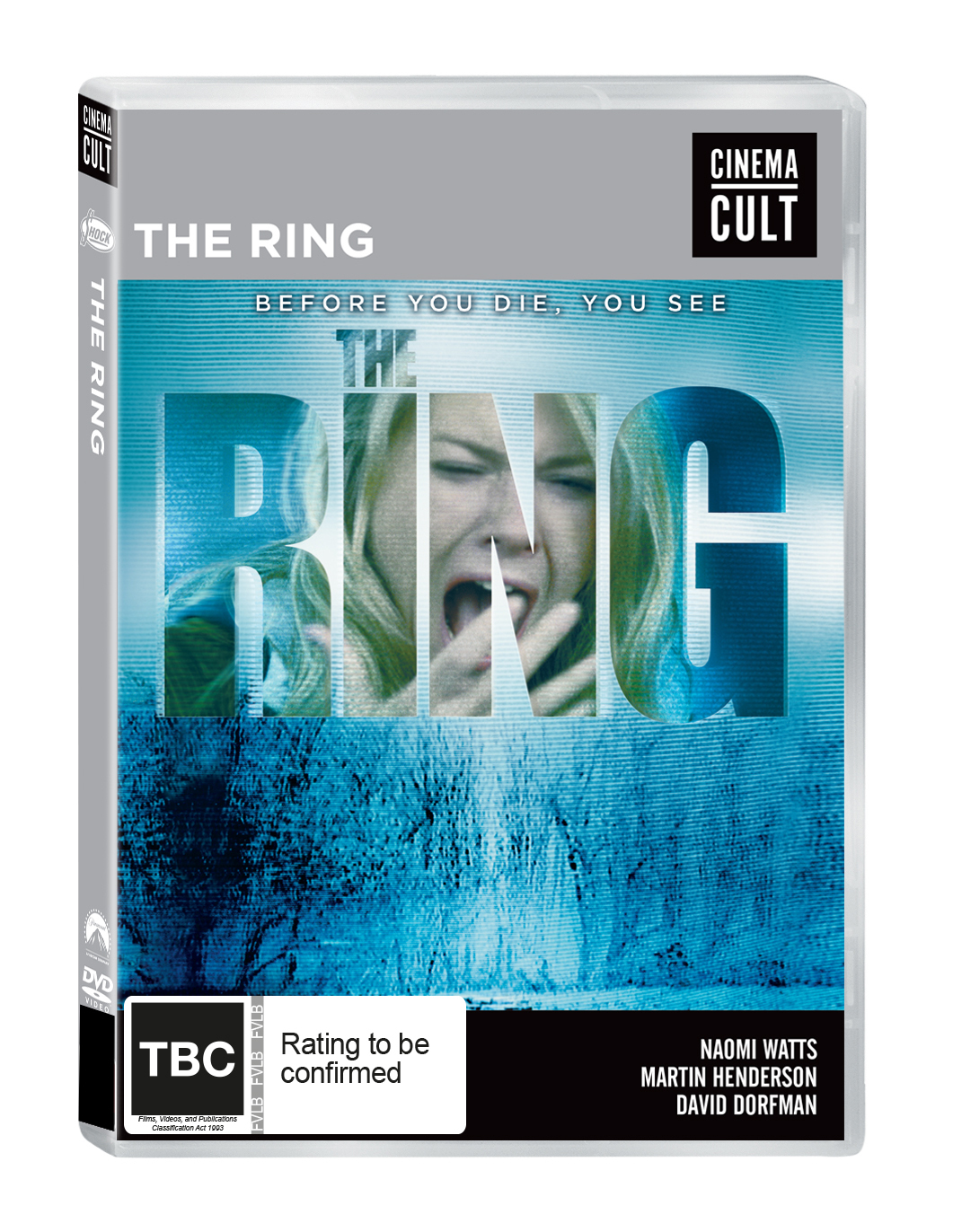 The Ring on DVD image