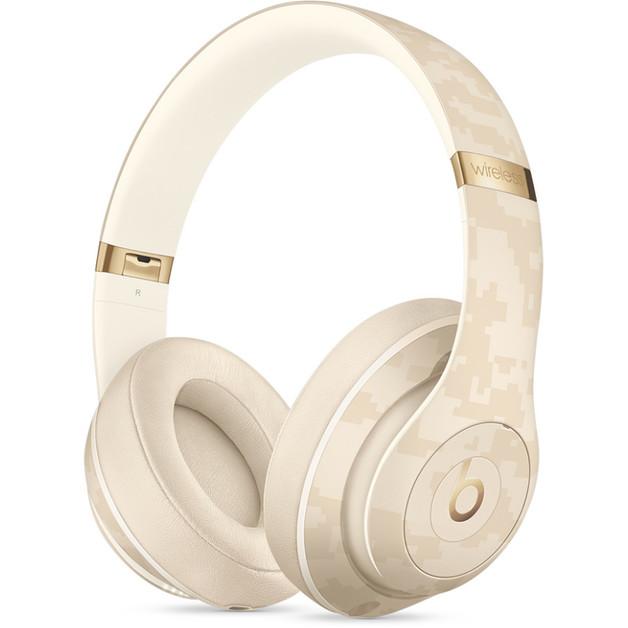 Beats Studio3 Wireless Noise Cancelling Over-Ear Headphones - Beats Camo Collection - Sand Dune