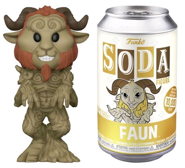 Pan's Labyrinth: Faun - Soda Vinyl Figure + Collector Can