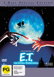 E.T. - The Extra-Terrestrial: Special Edition (2 Disc Set) on DVD