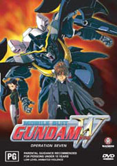 Gundam Wing - 7 on DVD