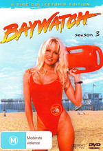 Baywatch - Season 3: Collector's Edition (6 Disc Box Set) on DVD