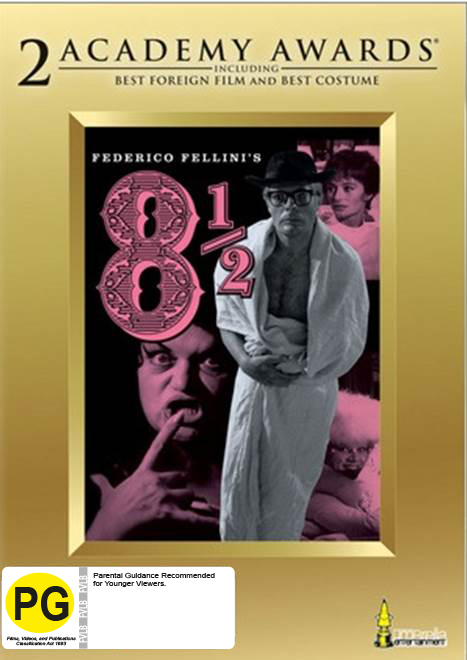 Fellini's 8 and 1/2 on DVD