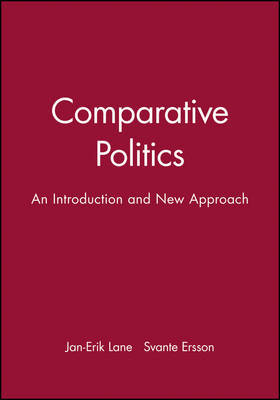 Comparative Politics by Jan-Erik Lane