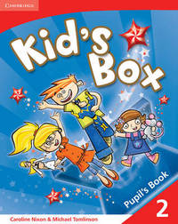 Kid's Box 2 Pupil's Book: Level 2 by Caroline Nixon image