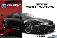 Aoshima: 1/24 Rasty PS13 Silvia 1991 - Model Kit