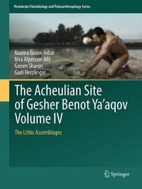 The Acheulian Site of Gesher Benot Ya`aqov Volume IV by Naama Goren-Inbar