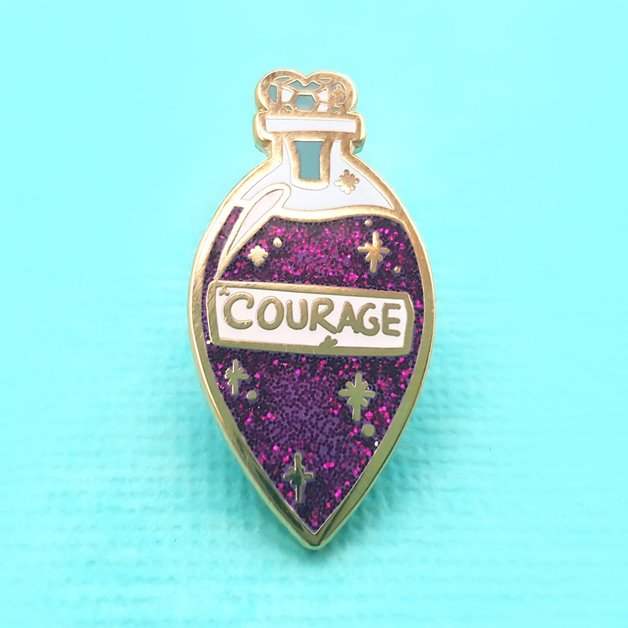 Jubly-Umph Elixir of Courage Lapel Pin