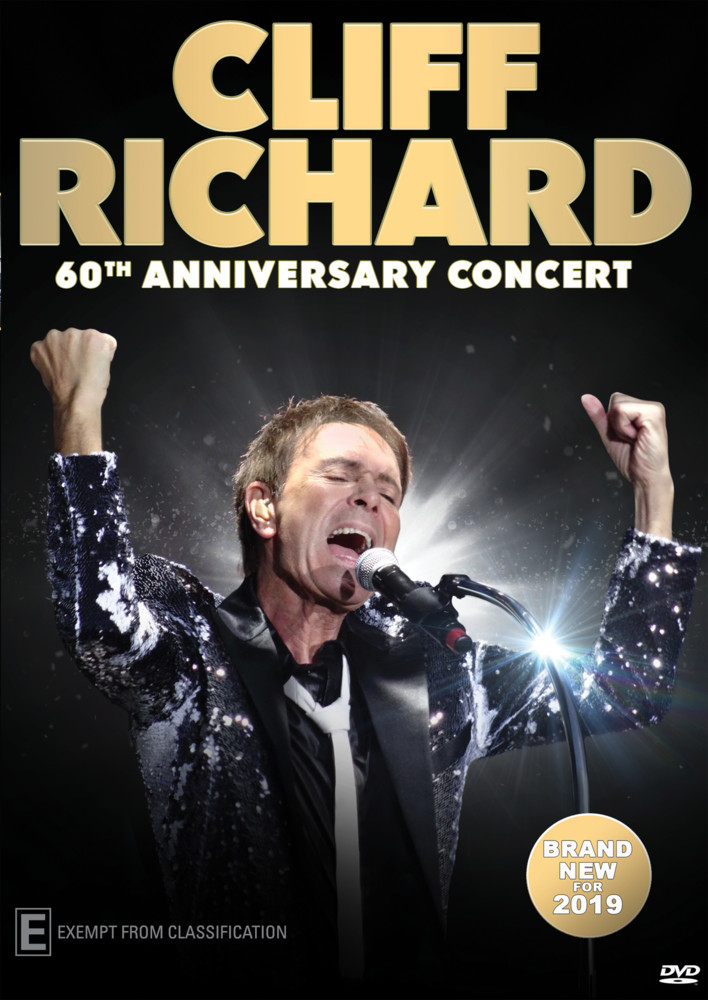 Cliff Richard: 60th Anniversary Concert on DVD image